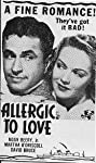 Allergic to Love (1944) Poster