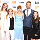 Imogen Poots, Anders Walter, Rory Jackson, Sydney Wade, and Madison Wolfe at an event for I Kill Giants (2017)