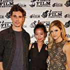 Tanner Novlan, Michelle Ang, Elisabeth Hower at Fallen Stars World Premiere 2015 Austin Film Festival