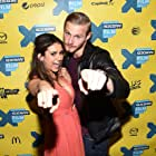 Alexander Ludwig and Nina Dobrev at an event for The Final Girls (2015)