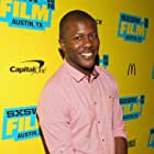 Edwin Hodge at an event for The Good Neighbor (2016)