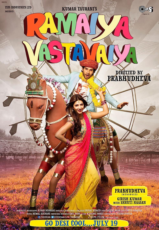 Ramaiya Vastavaiya 2013 Hindi Movie 480p AMZN HDRip ESub 451MB Download