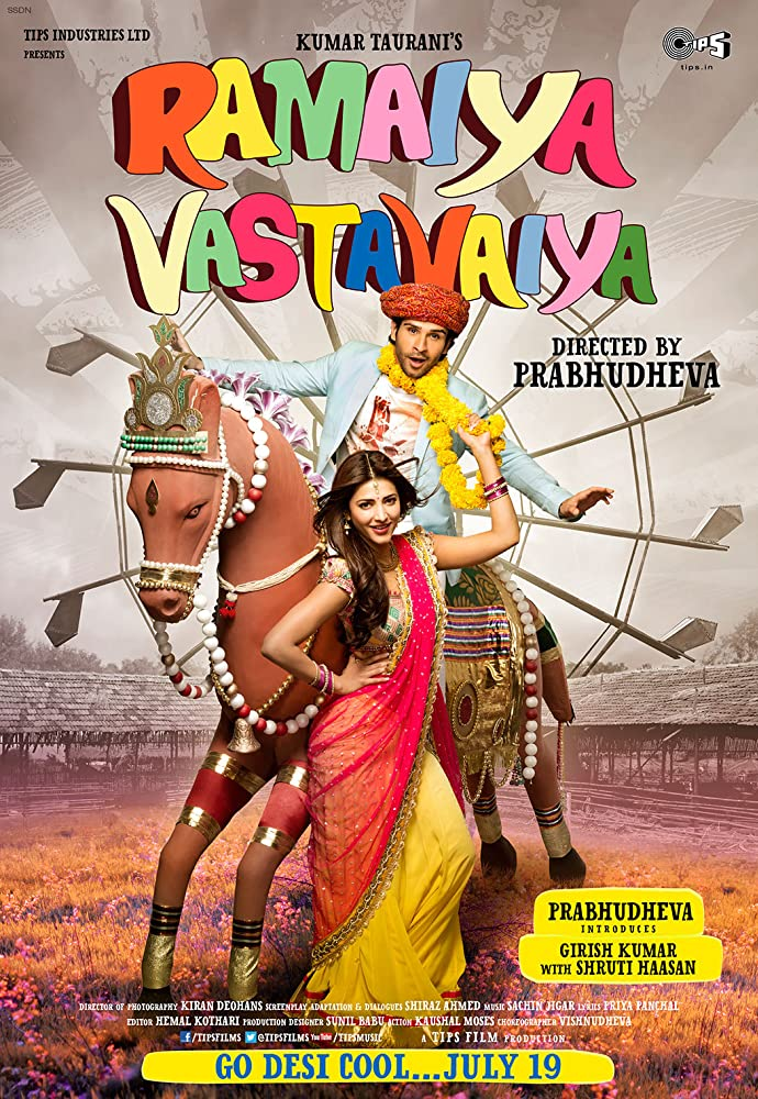 Ramaiya Vastavaiya (2013) Hindi 720p HDRip 900MB
