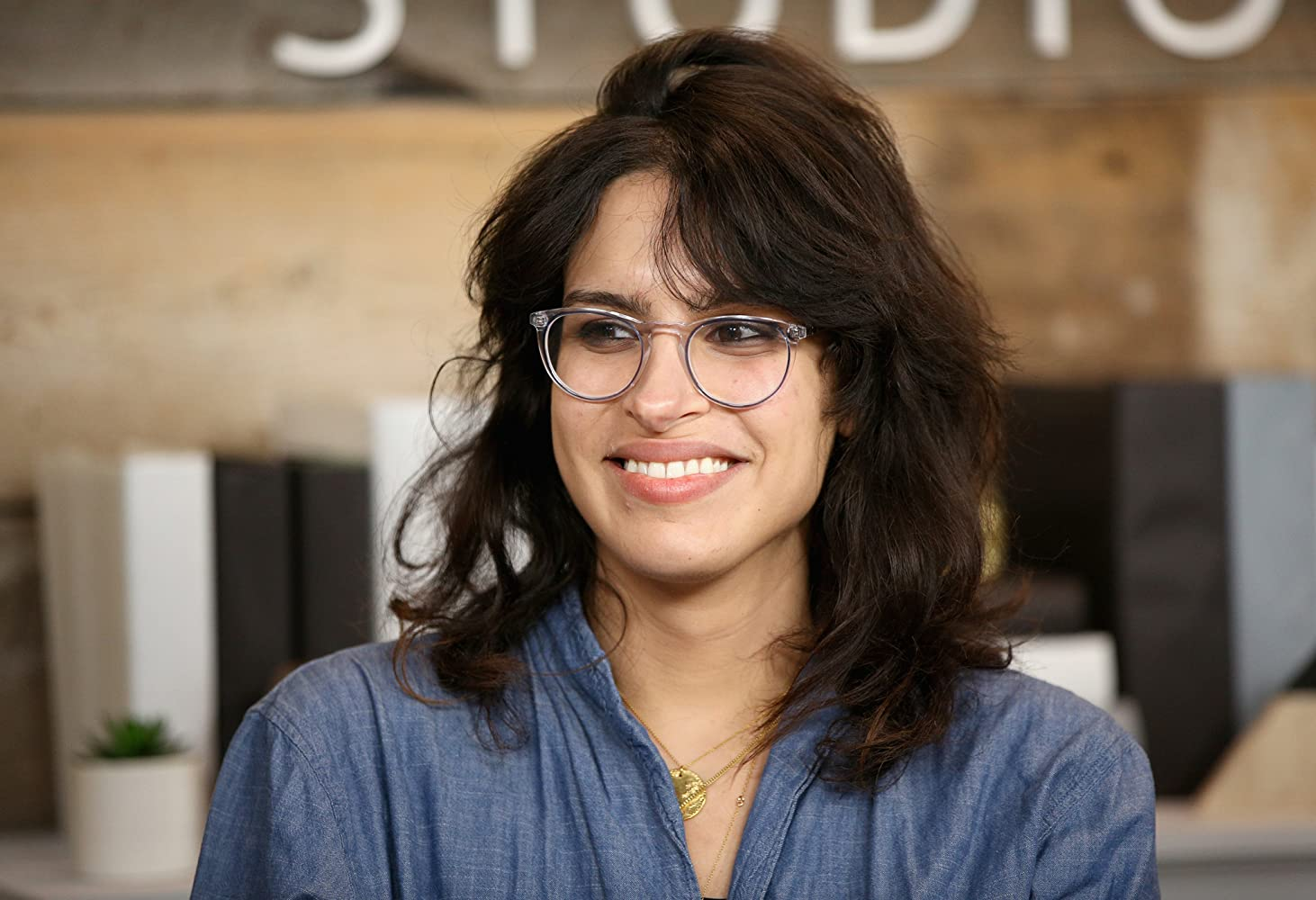 Desiree Akhavan at an event for The Miseducation of Cameron Post (2018)