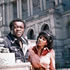 Pam Grier and Yaphet Kotto in Friday Foster (1975)