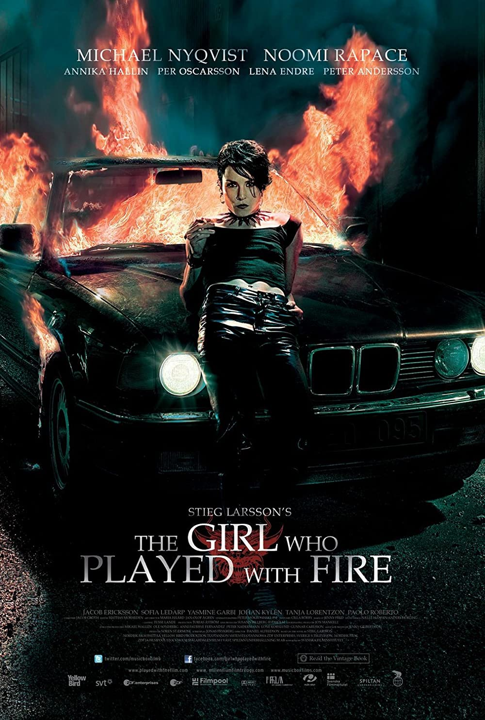 The Girl Who Played with Fire 2009 Hindi Dual Audio 450MB BluRay Download