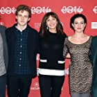 Anne Hathaway, Mary Steenburgen, Johnny Flynn, Kate Barker-Froyland, and Ben Rosenfield at an event for Song One (2014)