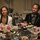 Regina Hall and Harold Perrineau in The Best Man Holiday (2013)