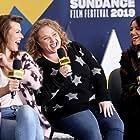 Milla Jovovich, Eiza González, and Danielle Macdonald in The IMDb Studio at Sundance (2015)