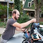 Cinematographer R.C. Walker on the set of Fare (2016).