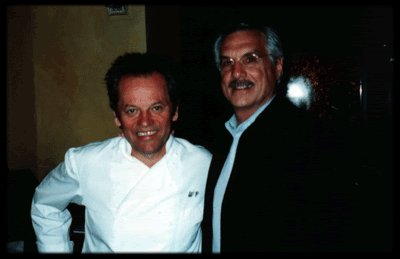 Tommy and Wolfgang Puck