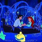 Christopher Daniel Barnes, Jodi Benson, and Jason Marin in The Little Mermaid (1989)