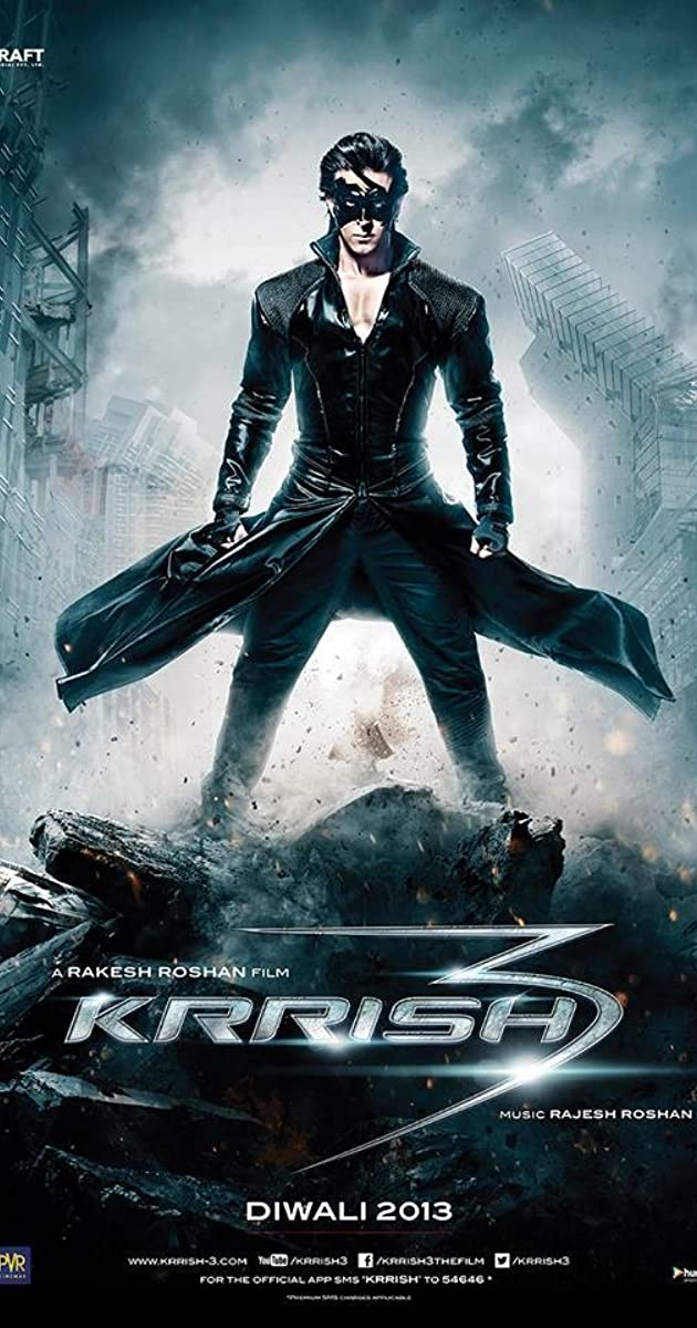 Krrish 3 Hindi Full Movie Part 1