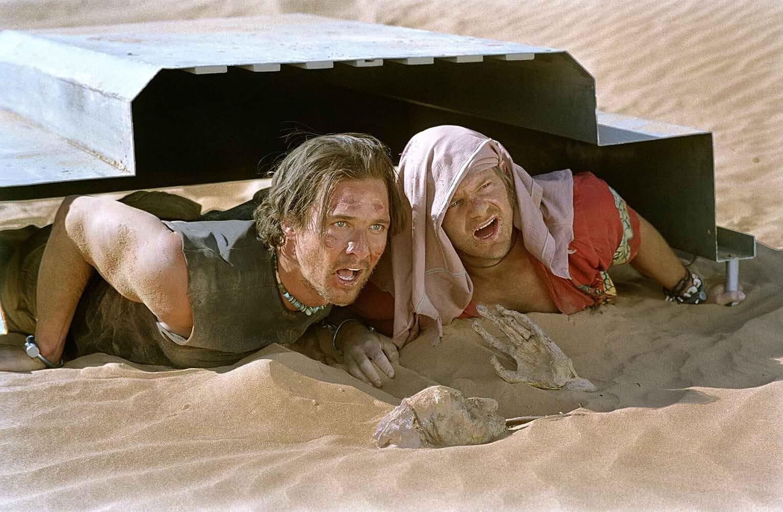 Matthew McConaughey and Steve Zahn in Sahara (2005)