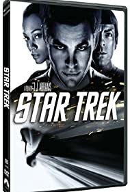 Zachary Quinto, Zoe Saldana, and Chris Pine in Star Trek (2009)