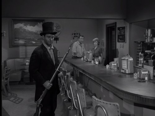 John Crawford, Evans Evans, and Cliff Robertson in The Twilight Zone (1959)
