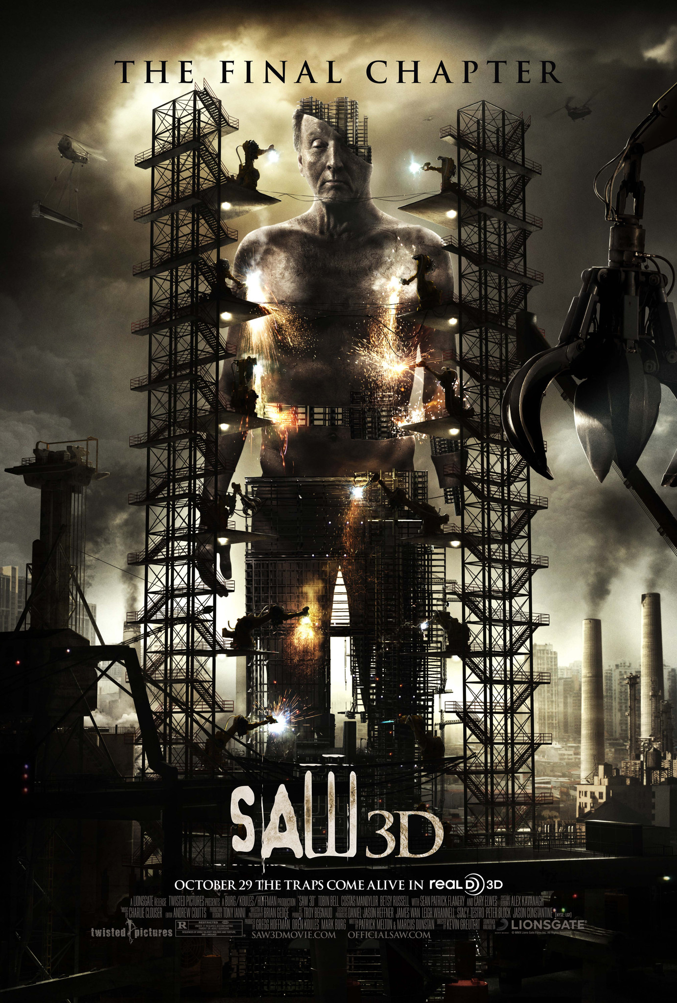 Saw 3D: The Final Chapter (2010) BluRay 720p & 1080p