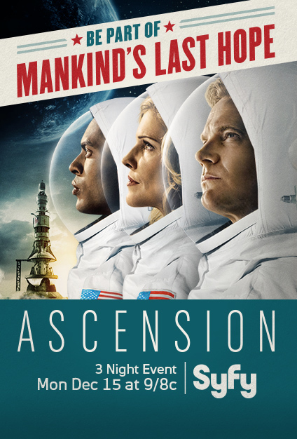 Brian Van Holt, Tricia Helfer, and Brandon P Bell in Ascension (2014)  Titles: Ascension, Chapter One, Chapter Two, Chapter Three People: Brian Van Holt, Tricia Helfer, Brandon P Bell