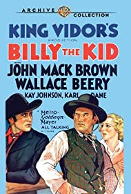 Wallace Beery, Johnny Mack Brown, and Kay Johnson in Billy the Kid (1930)