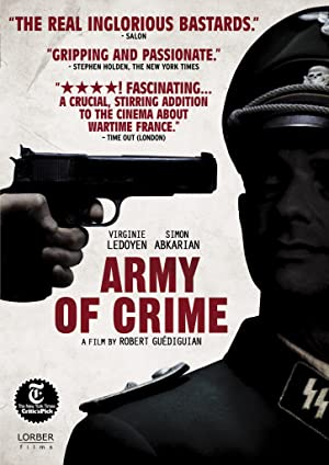 Where to stream Army of Crime
