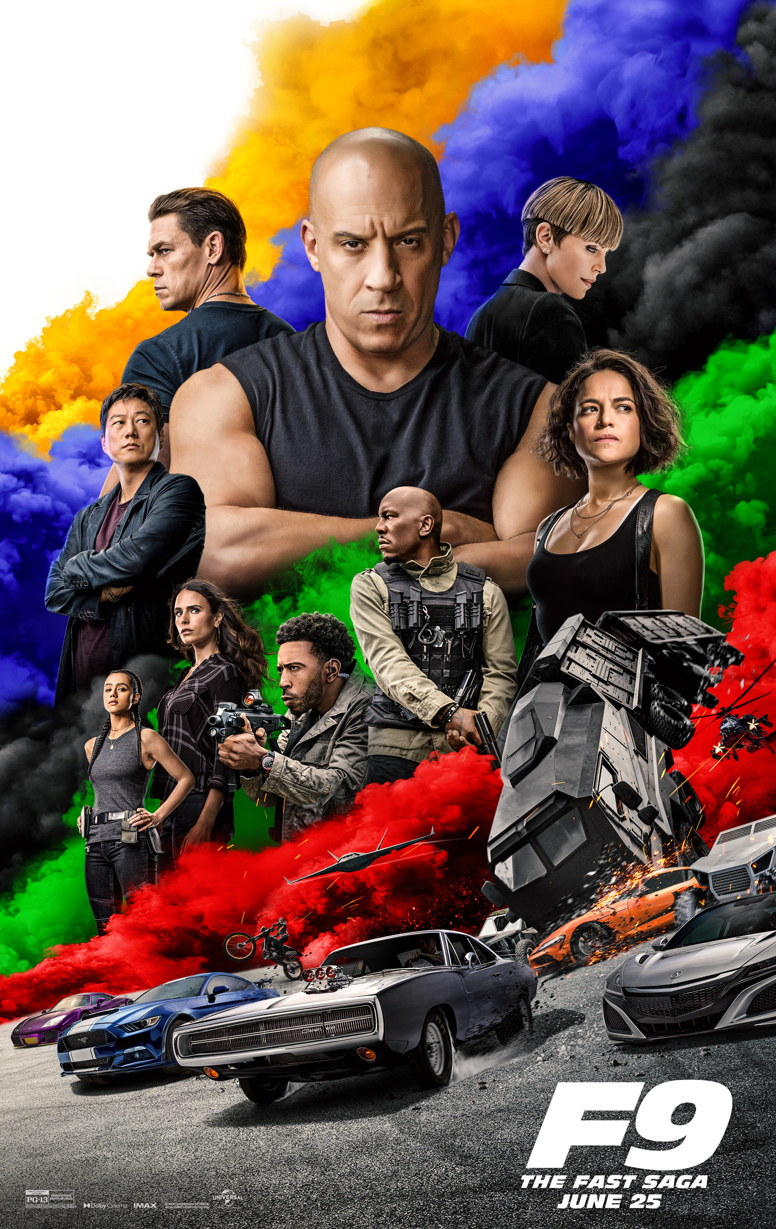 Fast and Furious F9 movie poster