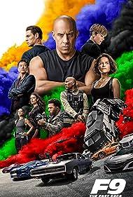 Charlize Theron, Vin Diesel, Jordana Brewster, Sung Kang, Ludacris, Michelle Rodriguez, Tyrese Gibson, John Cena, and Nathalie Emmanuel in F9 (2021)