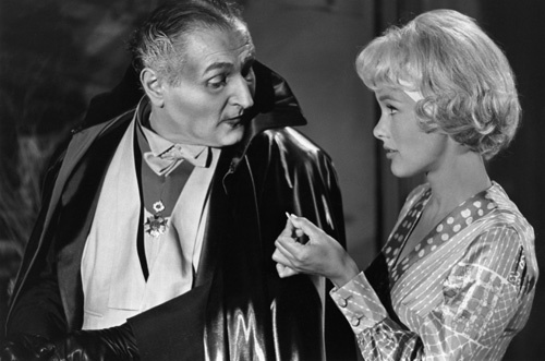 Al Lewis and Beverley Owen in The Munsters (1964)