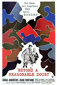 Beyond a Reasonable Doubt by Fritz Lang