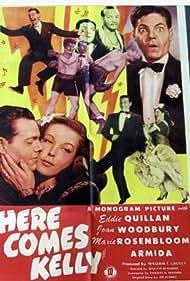 Armida, Eddie Quillan, Maxie Rosenbloom, and Joan Woodbury in Here Comes Kelly (1943)
