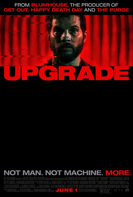 [R] Upgrade (2018) English Blu-Ray - 480P   720P - x264 - 400MB   850MB - Download & Watch Online With English Subtitle Movie Poster - mlsbd