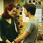 Rachel Blanchard and Breckin Meyer in Road Trip (2000)