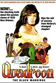 Quadroon (1971) Poster - Movie Forum, Cast, Reviews