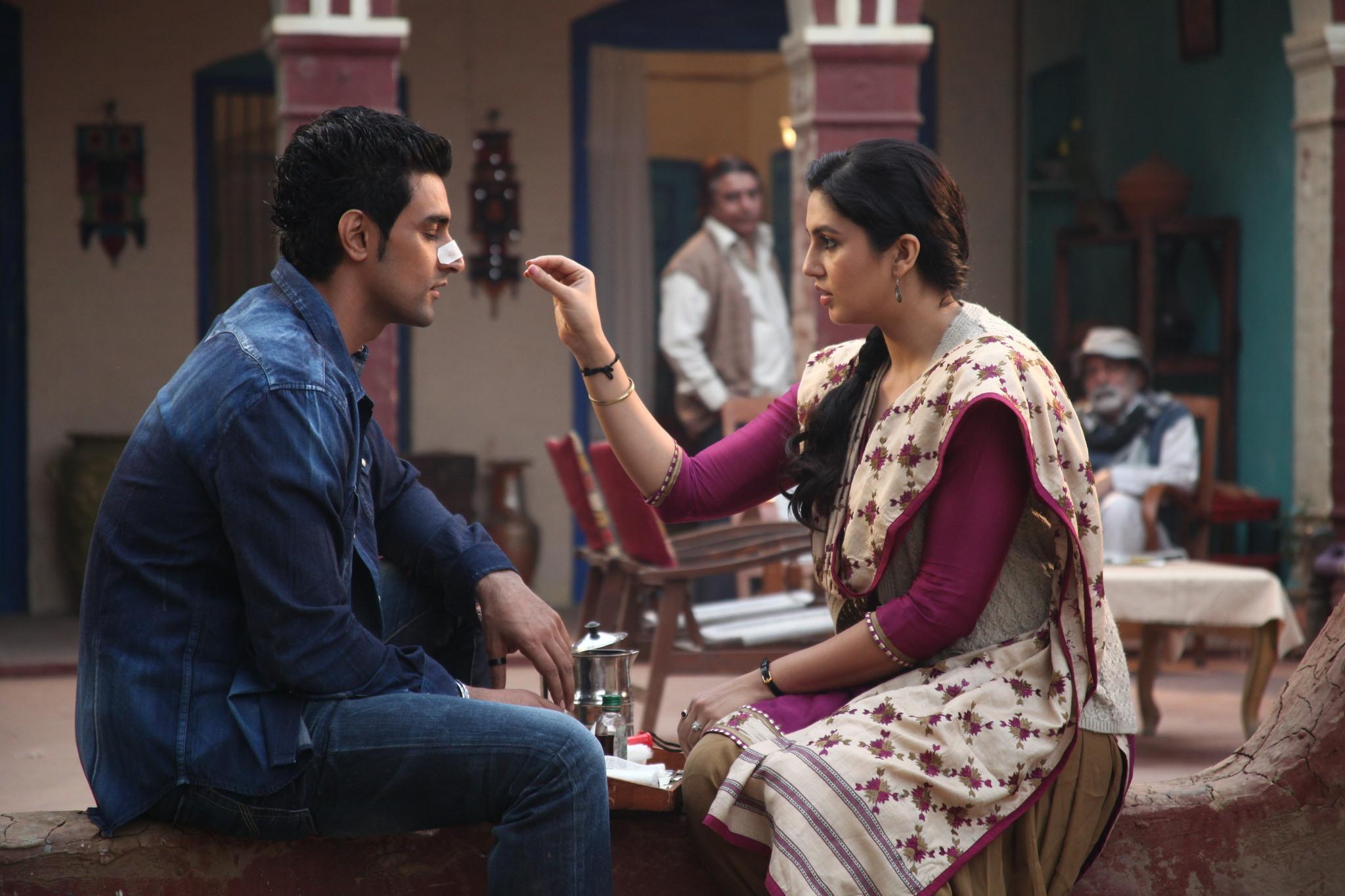 Kunal Kapoor and Huma Qureshi in Luv Shuv Tey Chicken Khurana (2012)
