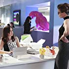 Melissa Benoist and Italia Ricci in Supergirl (2015)