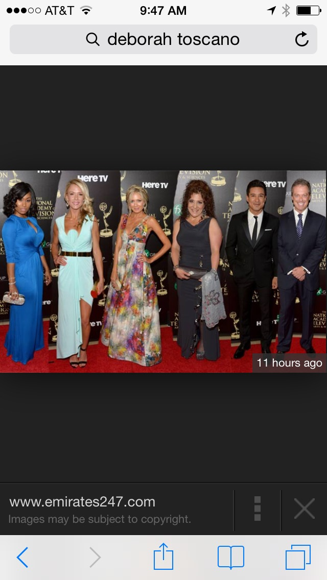 Best dressed at the 2014 DAYTIME EMMYS for Best New approaches Daytime drama Tainted Dreams, the series