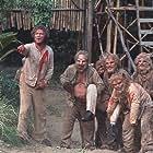 David S. Cass Sr., Gary Baxley, Fumio Demura, John Gillespie, The Great John L., and Bob Ozman in The Island of Dr. Moreau (1977)