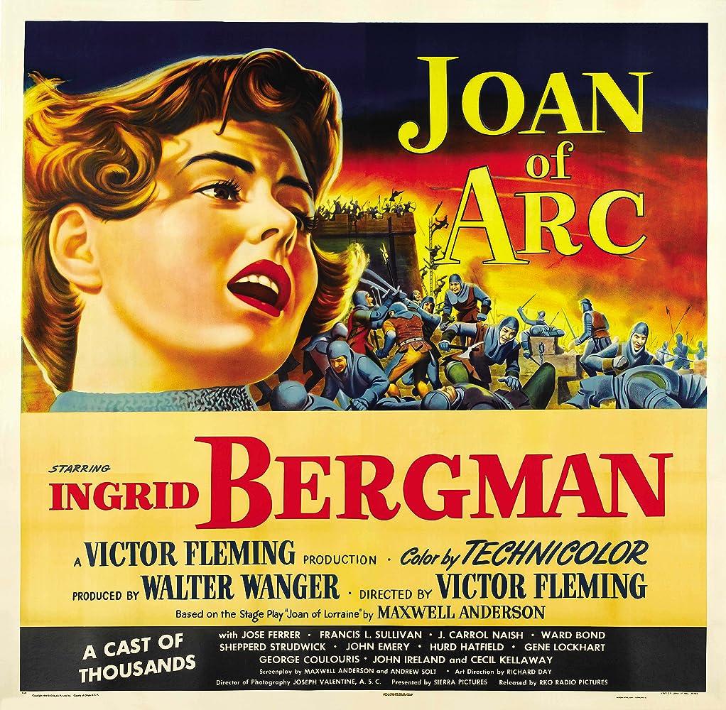 Ingrid Bergman in Joan of Arc (1948)