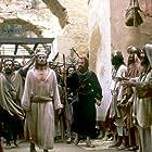 Harvey Keitel, Willem Dafoe, and Victor Argo in The Last Temptation of Christ (1988)