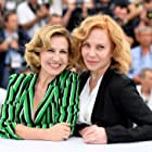 Cecilia Roth and Mercedes Moran at an event for El Ángel (2018)