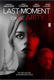 Brian Cox, Samara Weaving, and Carly Chaikin in Last Moment of Clarity (2020)