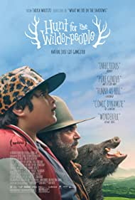 Sam Neill and Julian Dennison in Hunt for the Wilderpeople (2016)