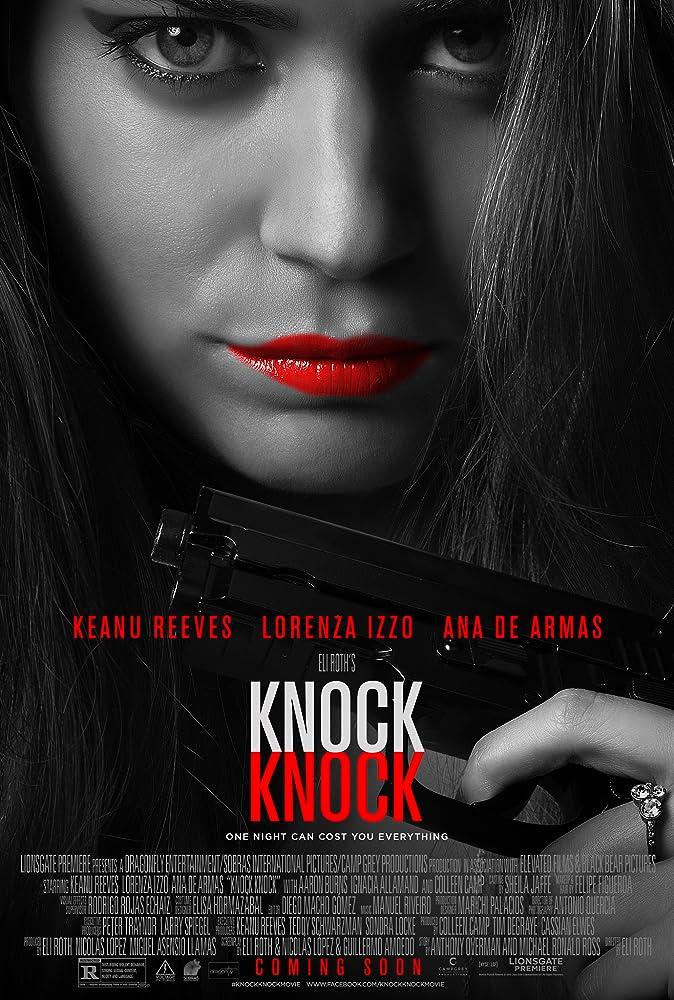 Lorenza Izzo dalam poster Knock Knock (2015)
