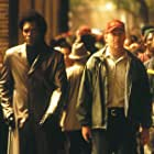 Samuel L. Jackson and Bruce Willis in Unbreakable (2000)