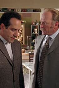Tony Shalhoub and Ted Levine in Monk (2002)
