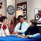 Tiffany Brissette, Richard Christie, Marla Pennington, and Jerry Supiran in Small Wonder (1985)