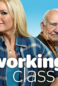 Ed Asner and Melissa Peterman in Working Class (2011)
