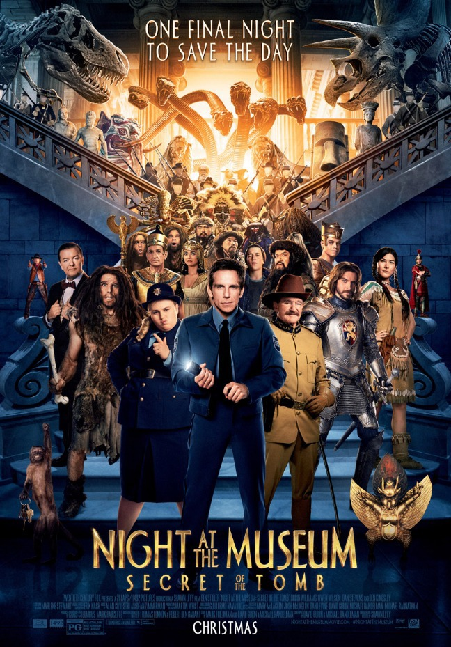 Night at the Museum: Secret of the Tomb Cover