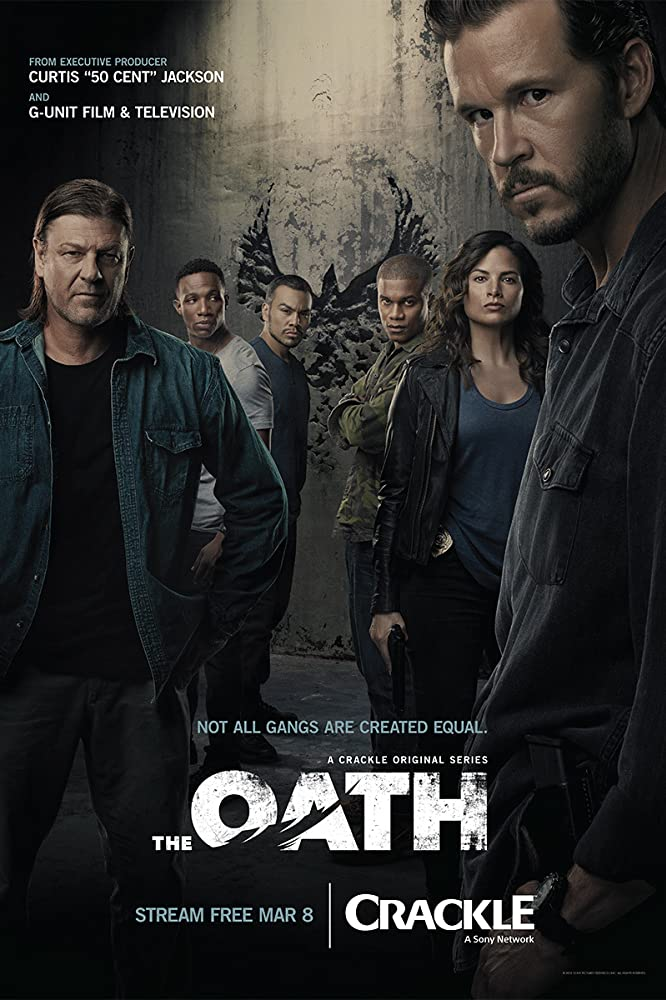 Sean Bean, Ryan Kwanten, and Katrina Law in The Oath (2018)