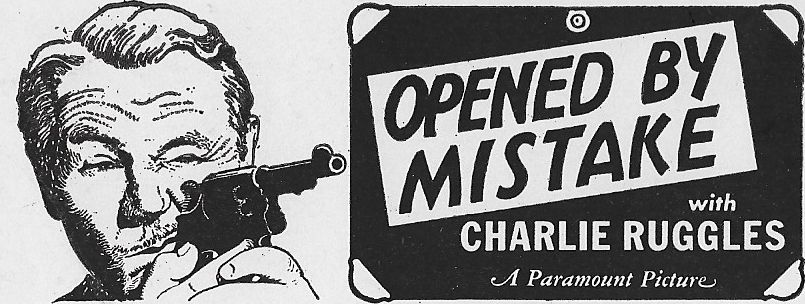 Charles Ruggles in Opened by Mistake (1940)