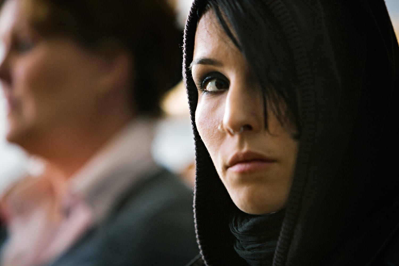 Noomi Rapace in Män som hatar kvinnor (2009)